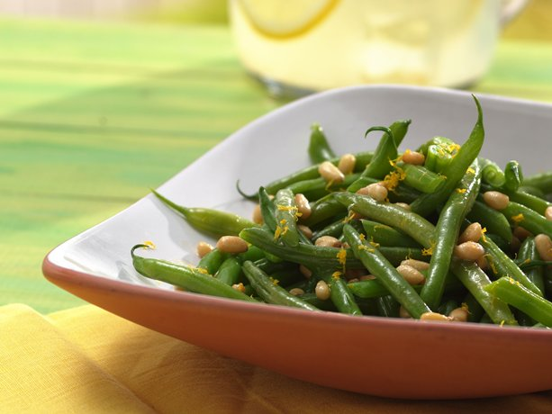 French Green Beans With Butter And Herbs Recipe — Dishmaps